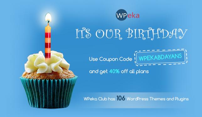 WPEKA BDAY- 40% off